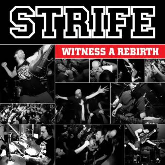 "Strife ""Witness a rebirth"" CD (Digipac)"