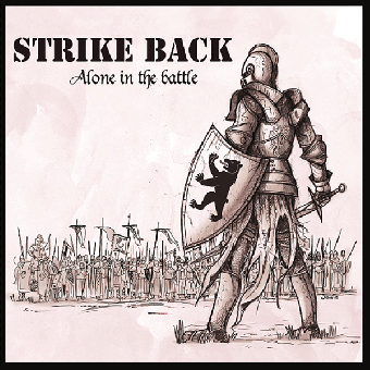 "Strike Back ""Alone in the battle"" MLP 12"" (lim. 200, red splatter)"