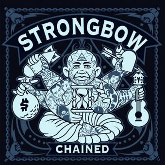 "Strongbow ""Chained"" LP + CD (lim. 300, bone / black haze)"