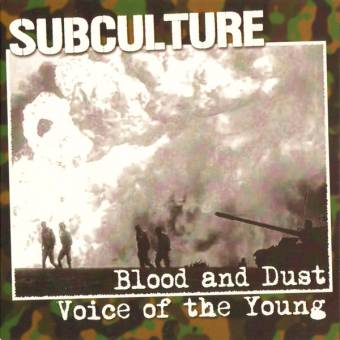 "Subculture ""Blood and dust"" EP 7"" (lim. 200, light marble)"