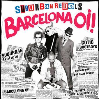 "Suburban Rebels ""Barcelona Oi!"" LP+Fanzine (lim. 200, red)"