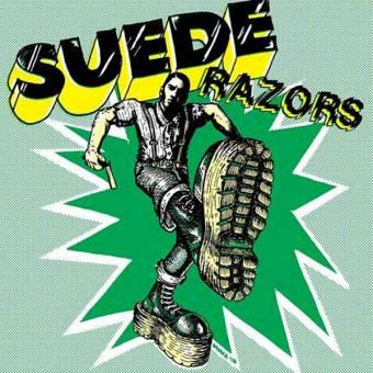 "Suede Razors ""same"" EP 7"" (black)"