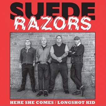 "Suede Razors ""Here she comes"" 7"" EP (lim. 340, clear + download)"