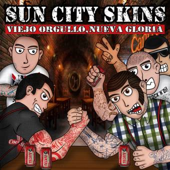 "Sun City Skins ""Viejo Orgullo, Nueva Gloria"" 7"" EP (lim. 100, black)"
