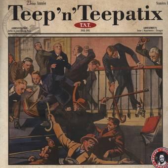 "Teep`N`Teepatix ""T.N.T. + Live 1991"" CD (lim. DigiPac)"
