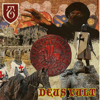 "Templars, The ""Deus Veult"" LP (black)"