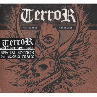 """Terror """"The damned, the shamed"""" CD (Special Ed. + Bonus)"""