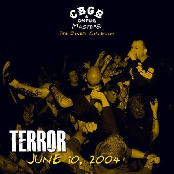 "Terror ""CBGB Omfug Masters: Live 2004"" LP"
