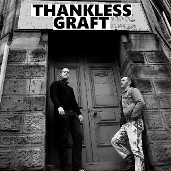 "Thankless Graft ""same"" EP 7"" (lim. 100, black)"