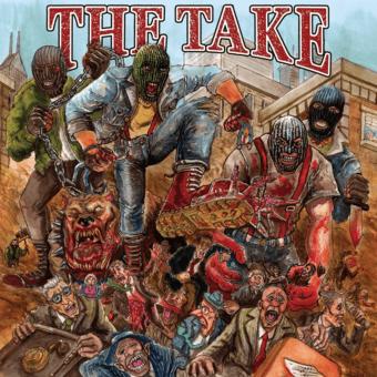 "Take, The ""Same"" LP (2nd press, orange)"