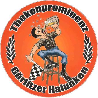 """Thekenprominenz """"Görlitzer Halunken"""" Aufkleber 058"""