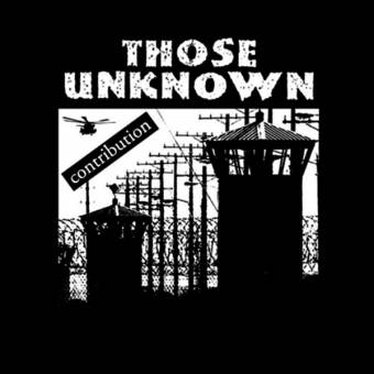 "Those Unknown ""Contribution"" EP (lim. 367, black)"