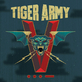 "Tiger Army ""V"" LP (col. vinl, 180gr. + MP3)"