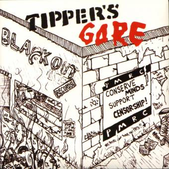 "Tipper`s Gore ""Blackout"" EP 7"""