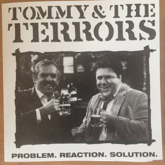 """Tommy & the Terrors """"Problem.reaction.solution"""" 7"""" EP (lim. 40, CHERS sleeve)"""