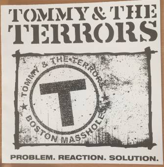 "Tommy & the Terrors ""Problem.reaction.solution"" 7"" EP (lim. 40, LOGO sleeve)"