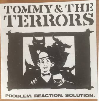 "Tommy & the Terrors ""Problem.reaction.solution"" 7"" EP (lim. 40, PADDY sleeve)"