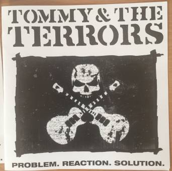"Tommy & the Terrors ""Problem.reaction.solution"" 7"" EP (lim. 40, SKULL sleeve)"