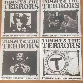 "Tommy & the Terrors  ""Problem.reaction.solution"" 7""EP (leftover edition, SET)"