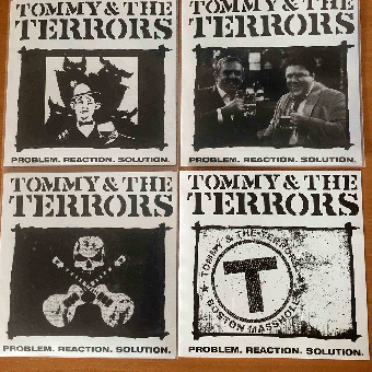 "Tommy & the Terrors ""Problem.reaction.solution"" 7"" EP (leftover edition, SET)"