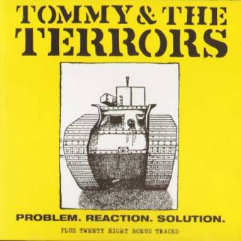 "Tommy & The Terrors ""Problem. Reaction. Solution + 28 Bonus Tracks"" CD"