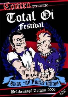 Total Oi! Festival 2006 DVD (Schusterjungs, Troopers, Berliner Weisse, KB)