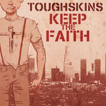 "Toughskins "" Keep the Faith"" EP 7"" (black)"