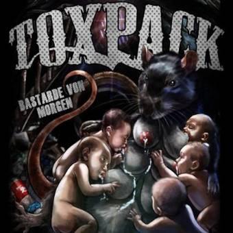 """Toxpack """"Bastarde von Morgen"""" CD (DigiPac)"""