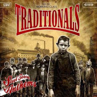 """Traditionals """"Steel Town Anthems"""" LP (lim. 100, mustard/bronze)"""
