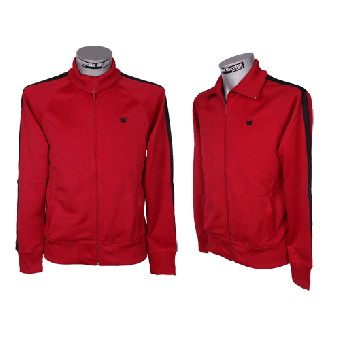 "Kings League ""04"" Trainingsjacke (red/black)"