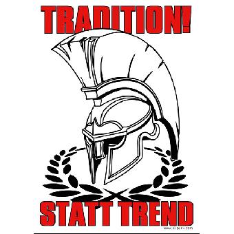 Tradition statt Trend - Poster
