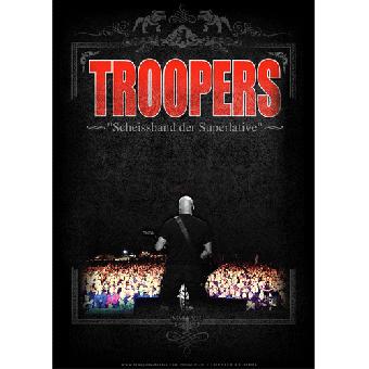 """Troopers """"Scheissband der Superlative"""" Poster A2 (gefaltet)"""