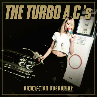 "Turbo A.C.`s ""Damnation Overdrive"" LP+Poster+MP3 (col., remast. 20th Anniver.)"
