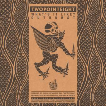 "Twopointeight ""Outburst"" EP 7"" (lim. 200, white + download)"