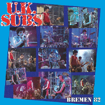 "UK Subs ""Bremen `82"" LP (lim. 500, black)"