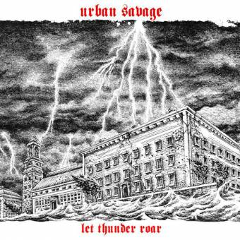 "Urban Savage ""Let thunder roar"" LP (black)"