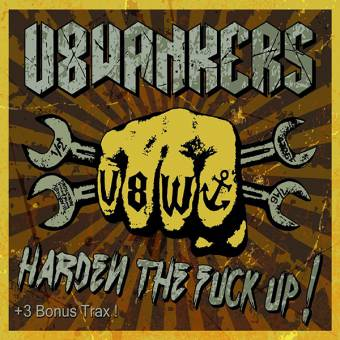 "V8 Wankers ""Harden the fuck up!"" CD (+ Bonustracks, lim. DigiPac)"