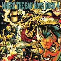 "V/A ""Where the bad boys rock 4"" CD"