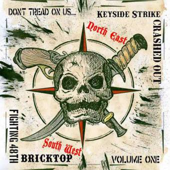 "V/A  ""Don`t tread on us - Vol.1"" Bricktop / Crashed Out / Keyside Strike EP 7"""