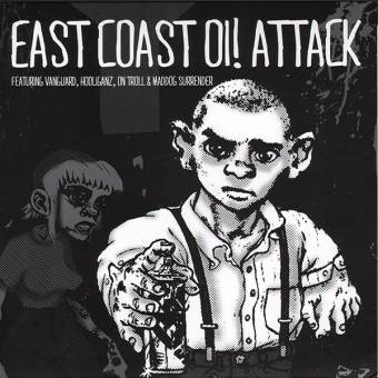 "V/A ""East Coast Oi! Attack Vol. 1"" EP 7"""