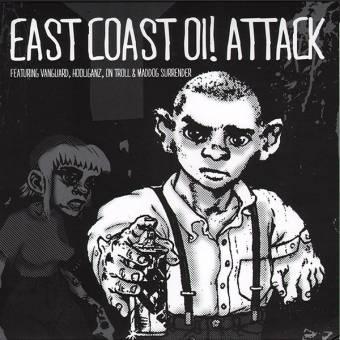 """V/A """"East Coast Oi! Attack"""" EP 7"""""""