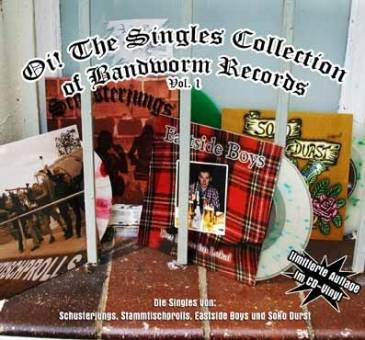 V/A - Oi! The Singles of Bandworm Records Vol. 1 CD (DigiPac)