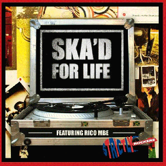 "V/A ""Ska`d for Life"" LP (lim. 200, white)"