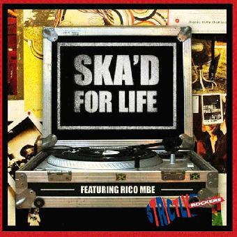 """V/A """"Ska`d for Life"""" LP (lim. 200, white)"""