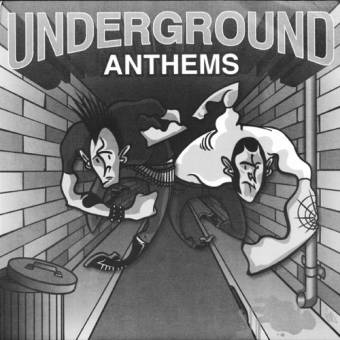 "V/A ""Underground Anthems"" EP 7"" (lim. 500)"
