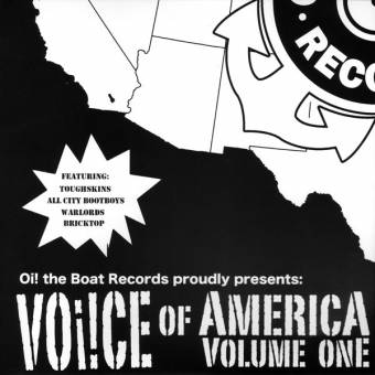 "V/A Voice of America Vol. one EP 7"" (+ download) (Toughskins, Bricktop)"