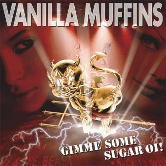 "Vanilla Muffins ""Gimme some Sugar Oi"" LP (lim. 200, red)"
