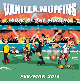 """Vanilla Muffins """"Goal of the month Febr/March 2016"""" 7"""" (incl. DL Code)"""
