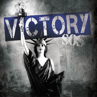 "Victory ""SOS"" LP (lim. 400, blue/white splatter)"