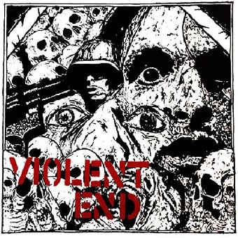 """Violent End """"same"""" EP 7"""" (lim. 300, black)"""